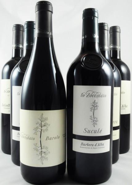 Lo Zoccolaio Rotwein Paket Piemont Italien 6er Angebot