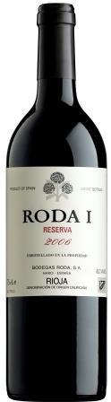 Roda Reserva 1 Tinto Rioja Spanien
