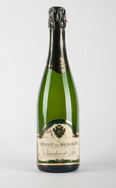 Cremant de Bourgogne Blanc Clavelier et Fils Frankreich Die Bode