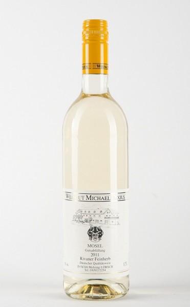 Dixius Rivaner feinherb Wein halbtrocken Mosel Die Bodega online