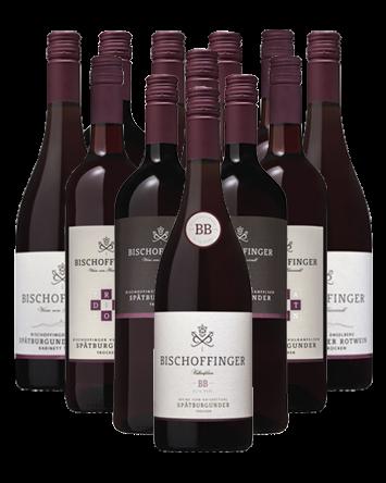 Bischoffinger Rotweine vom Kaiserstuhl 12er Angebot frei Haus