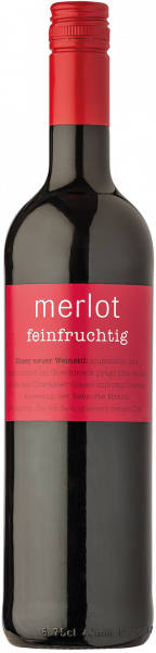 Ruppertsberger Merlot feinfruchtig QbA aus der Pfalz