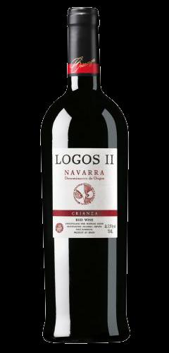 Logos II Crianza Navarra Tinto Wein aus Spanien Die Bodega online