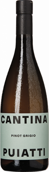 Puiatti Pinot Grigio Bianco DOP Friaul Italien