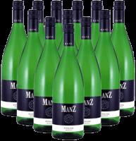 Manz Riesling Ganzer Liter Rheinhessen 12er Angebot