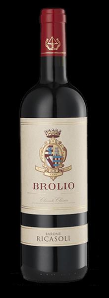 Chianti Classico Brolio aus der Toskana in Italien