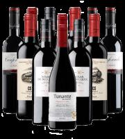 Tempranillo Rotwein Probierpaket Spanien 12er Angebot