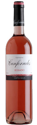 Canforrales Rosado La Mancha Campos Reales Spanien
