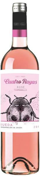 Cuatro Rayas Tempranillo Rose Rueda Spanien
