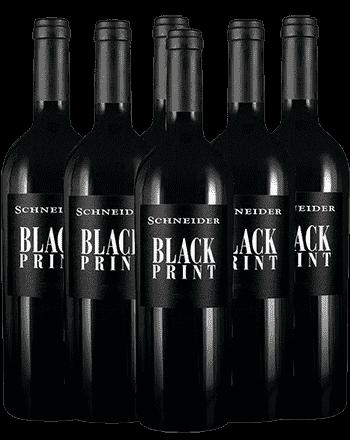 Markus Schneider Black Print Rotwein Pfalz 5+1 Angebot