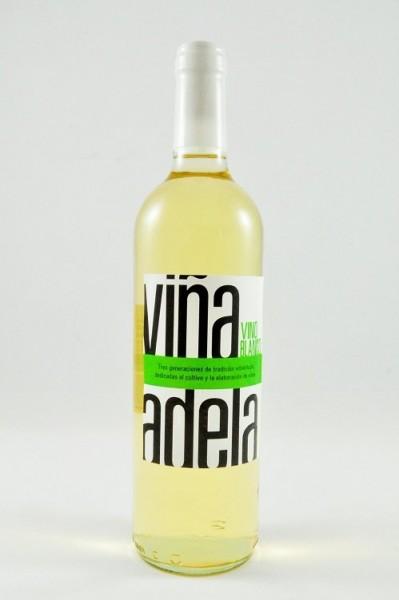Vina Adela Blanco Viura Wein Aldeanueva Spanien