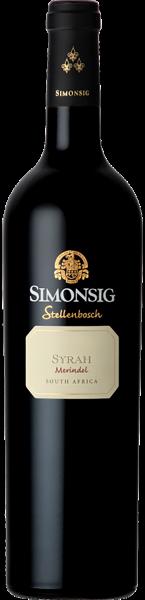 Simonsig Merindol Syrah Red Stellenbosch Südafrika