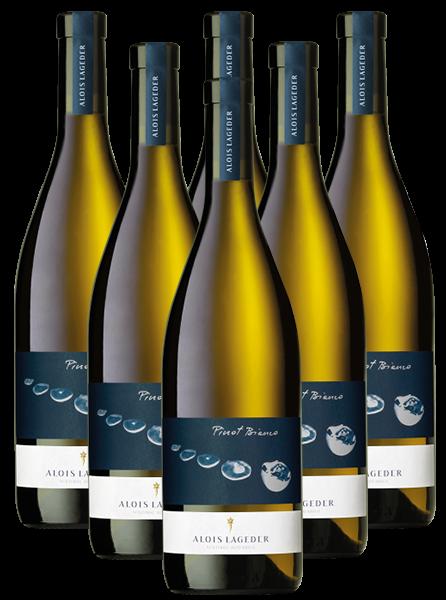 Alois Lageder Pinot Bianco DOC Südtirol Italien 6er Angebot