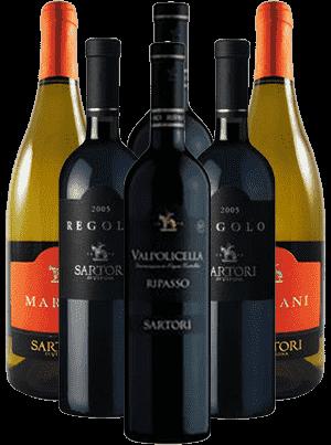 Sartori Probierpaket Valpolicella Italien 6er Angebot
