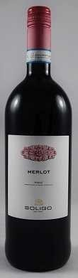 Soligo Rotwein Merlot Piave DOC 2017 Italien Liter