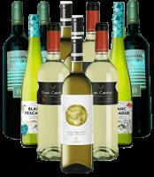 Vino Blanco Probierpaket Weißwein Spanien 12er Angebot