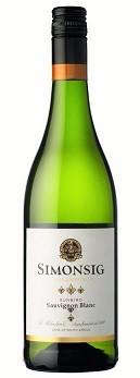 Simonsig Sauvignon Blanc Weißwein Stellenbosch Südafrika