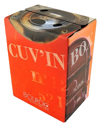 Bourdic Bag in Box Rosé Cuvee Rhone Frankreich 5,0 l