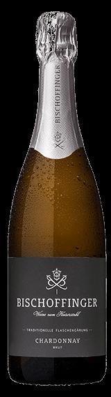 Bischoffinger Sekt Chardonnay Brut vom Kaiserstuhl in Baden