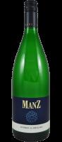 Manz Kerner Riesling Weißwein lieblich Rheinhessen 1,0 l