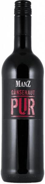Manz Gänsehaut Pur Rotwein Cuvee trocken Rheinhessen