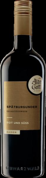 Alde Gott Rot & Süß Spätburgunder QbA Baden
