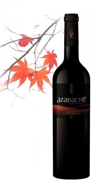 Azabache Tempranillo Rioja Tinto Aldeanueva Spanien