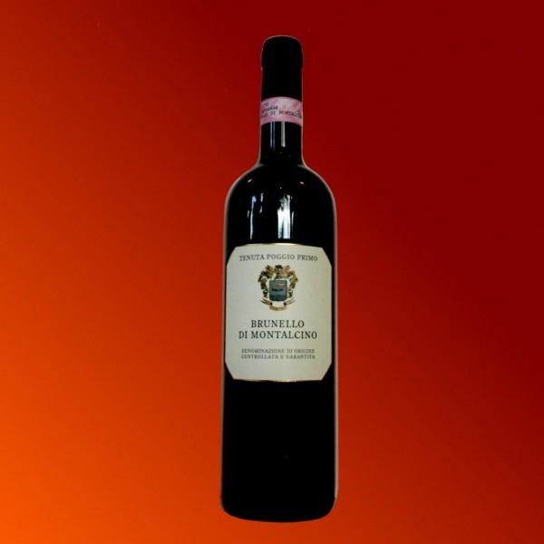 Brunello di Montalcino Rosso DOCG  Poggio Primo Wein aus Italien