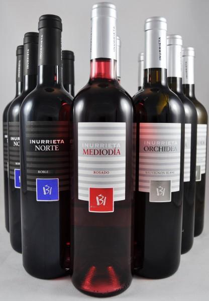 Inurrieta Navarra Probierpaket 12er Angebot Spanien
