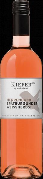 Friedrich Kiefer Spätburgunder Weißherbst Kabinett Baden