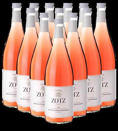 Julius Zotz Rosé trocken Baden 12er Angebot 1,0 l