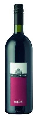 Villa Sandi Merlot Rosso Veneto IGT 2011 Liter Italien