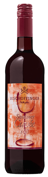 Bischoffinger Rotwein Cuvee süß Baden Kaiserstuhl