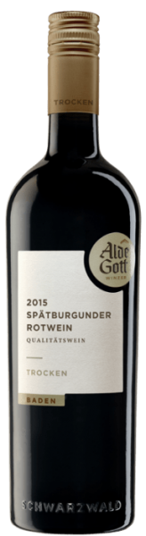 Alde Gott Spätburgunder Rotwein trocken QbA Baden