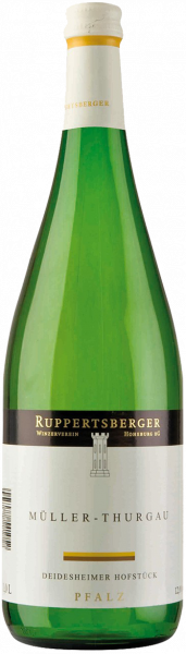 Ruppertsberger Müller-Thurgau halbtrocken QbA Pfalz 1,0 l