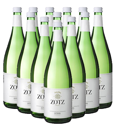 Julius Zotz Gutedel halbtrocken Baden 12er Angebot 1,0 l