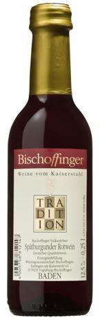 Bischoffinger Spätburgunder Tradition 0,25 l Kaiserstuhl
