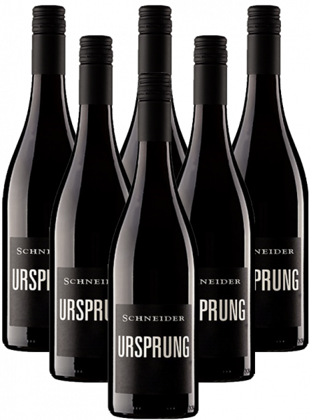 Markus Schneider Ursprung Rotwein Cuvee Pfalz 5+1 Angebot