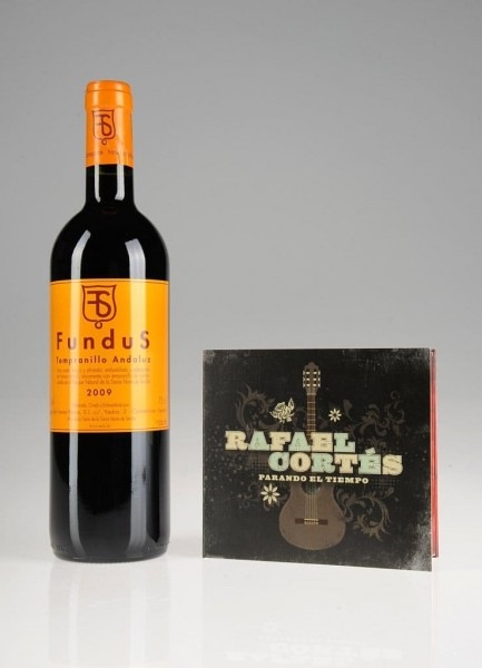 Weinpräsent Andalusien Vino Tinto und Flamenco CD Die Bodega onl