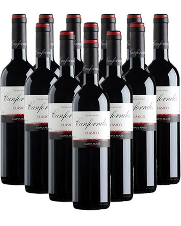 Canforrales Clasico Tinto Rotwein 12er Angebot