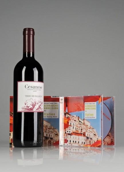 Weinpräsent Bella Italia Hörbuch & Rotwein Die Bodega online