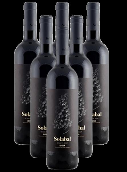 Solabal Reserva Rioja Tinto Spanien 6er Angebot Versand gratis