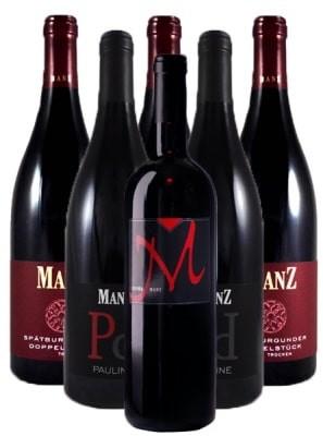 Manz Rotwein Probierpaket trocken Rheinhessen 6er Angebot