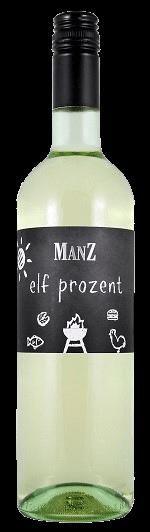 Manz Elf Prozent Weißwein Cuvee trocken Rheinhessen