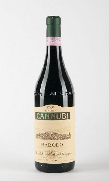 Borgogno Barolo Rotwein Riserva Cannubi DOCG Italien
