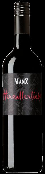 Manz Herzallerliebst Rotwein Cuvee feinherb Rheinhessen