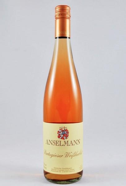 Anselmann Portugieser Weißherbst Pfalz Rosé lieblich