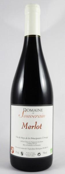 Le Souverain Rouge Côtes du Rhône 2013 Frankreich Bio