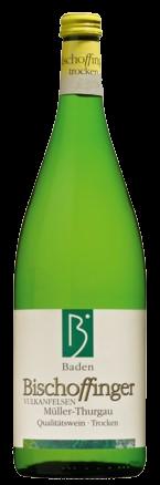 Bischoffinger Müller-Thurgau trocken Kaiserstuhl Baden Liter