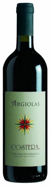 Argiolas Costera Connonau Rotwein trocken aus Sardinien